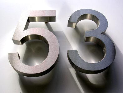 Metal Letters And Numbers Httpwwwarrosignscoukimagesmetallettersmetalnumbers53B
